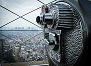 Coin Photo Prints - From Observation Deck. Print by N. Umnajwannaphan