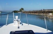 Florida Bridge Photo Originals - From the Boat by Geralyn Palmer