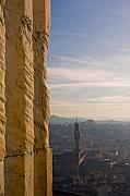 Art Ferrier Metal Prints - From the Duomo 1  Metal Print by Art Ferrier