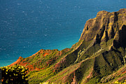 Debbie Karnes Prints - From the Hills of Kauai Print by Debbie Karnes