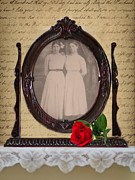 1800s Framed Prints - From the Past Framed Print by Betty LaRue