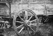 Old Wagon Photos - From The Past by Kathy Jennings