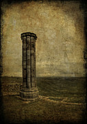 Column Framed Prints - From The Ruins Of A Fallen Empire Framed Print by Evelina Kremsdorf