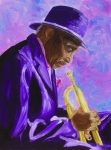 Sax Art Paintings - From The Soul by Michael Lee
