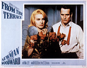 1960s Poster Art Posters - From The Terrace, Joanne Woodward, Paul Poster by Everett