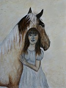 Cowgirl Prints Paintings - From This Moment On by The Art With A Heart By Charlotte Phillips