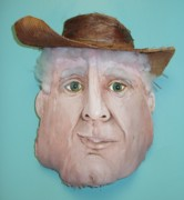 Cowboy Hat Mixed Media - Fronderosa from the West of Florida by Ellen Burns