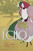 Posters Of Women Paintings - Front cover of The Echo by William Bradley