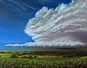 Field. Cloud Pastels - Front by Lisa Higby LeFevre