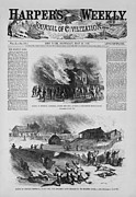Oppression Prints - Front Page Of A Newspaper Reports Print by Everett