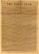 Antislavery Art - Front Page Of The North Star, June 2 by Everett