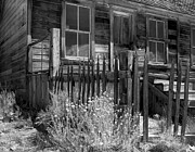 Large Format Posters - Front Porch Bodie Ghost Town California Poster by Pete Paul