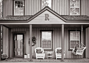Front Porch Prints - Front Porch Print by Michael Avory