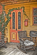 Front Porch Prints - Front Porch Print by PMG Images