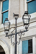 Bryant Photo Prints - Front Street Lamp Print by Brenda Bryant