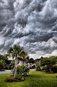 Frontal Clouds Print by Dustin K Ryan