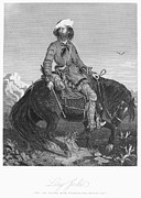 Rocky Mountain Horse Framed Prints - FRONTIERSMAN, c1850 Framed Print by Granger