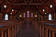 Worship Photo Originals - Frost Chapel HDR 2 by Jason Blalock