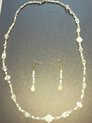 Winter Jewelry - Frost Necklace Set by Karen Jensen
