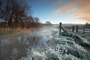 Frost Photos - Frost on the Frome by Kris Dutson