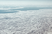 Baltic Prints - Frozen And Ice Covered Gulf Of Finland Print by Photography by Oleg Pulemjotov (Photogruff)