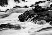 Lewiston Prints - Frozen in Time Print by Brenda Giasson