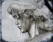 "\""stone Art\\\"" Digital Art - Frozen in Time by Gothicolors With Crows"
