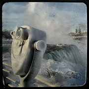 Niagra Falls Digital Art - Frozen Viewer by Gothicolors And Crows