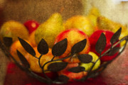 Bowl Photo Prints - Fruit Al Fesco Print by Rebecca Cozart