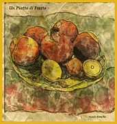 Alexis Rotella Framed Prints - Fruit Framed Print by Alexis Rotella