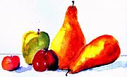 Fruit Still Life Posters - Fruit Poster by Anne Duke
