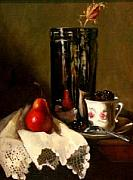 Silver-filled Art - Fruit Cup by Louise B Hafesh