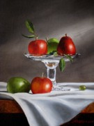 Oils Digital Art Originals - Fruit du Jour by Jan  Brieger-Scranton