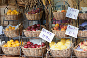 Grocery Store Prints - Fruit for Sale Print by Clarence Holmes
