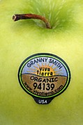 Granny Posters - Fruit Label Poster by Kaj R. Svensson