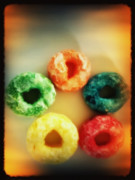 Iphone Framed Prints - Fruit Loops Framed Print by Charles Dobbs