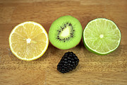 Kiwi Photo Originals - Fruit Mix by Michael Waters