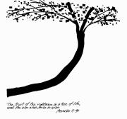 Saving Drawings - Fruit of the Righteous by Rich Brumfield