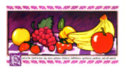 Joy Painting Originals - Fruit Of The Spirit by Brett H Runion