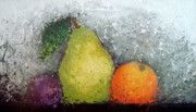 Fruit Print by Paula Weber