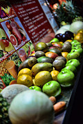 Mango Metal Prints - Fruit Stand Metal Print by Paul Ward