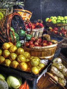 Fruit Stand Paintings - Fruit Stand1 by Anthony George