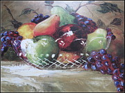 Fruit Still-life  Print by Kay Novy
