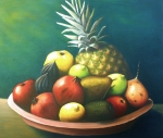 Fruits Paintings - Fruit ...still by Sonsoles Shack