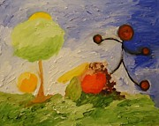 Cory Green Paintings - Fruitful - Producing something in abundance. by Cory Green