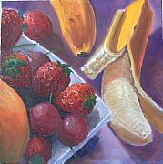 Seville Painting Prints - Fruits Ii Print by Paez De Pruna