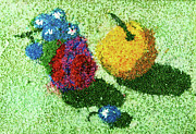 Fruits Glass Art - Fruits by Natalya A