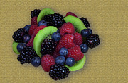 Raspberry Photo Originals - Fruity Mix by Michael Waters