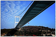 Bosphorus Prints - FSM Bridge Print by Joan Carroll