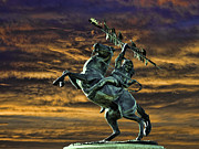 Florida State Originals - FSUs Unconquered Renegade and Osceola by Frank Feliciano